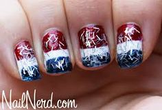 july 4th nail designs - Google Search