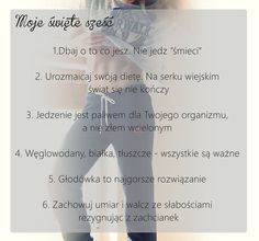 Dlaczego nie widzę efektów odchudzania/ćwiczeń? Part I - dieta Health Diet, Health Fitness, Body Under Construction, Runners World, Fit Motivation, Perfect Body, Fitness Inspiration, Healthy Lifestyle, Exercise