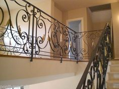 004 for sale online Stair Railing, Stairs, Railings, Italian Style, Wrought Iron, Scale, Chrome, House, Ebay