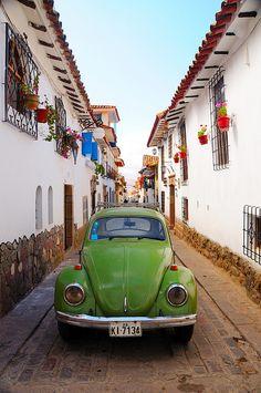 VW Beetle in Cusco, Peru Smith slug bugs are every where Volkswagen, My Dream Car, Dream Cars, Central America, South America, Cusco Peru, Beautiful Bugs, Dream Machine, Love Bugs