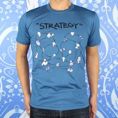 """""""Strategy"""" tee with Pit People fighters"""