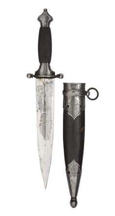 A Rare Russian Hunting Dagger -  By The Zlatoust Arms Factory, Circa 1880-90