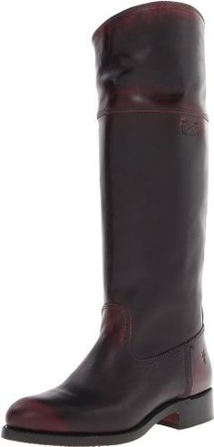 "FRYE Women's Jet Riding Boot FRYE. $487.95. 1 1/4"" heel. 15"" shaft height. 14 1/4"" shaft circumference (based on size 6). Made in Mexico. leather. Leather sole. Leather sole. Brush Off leather"