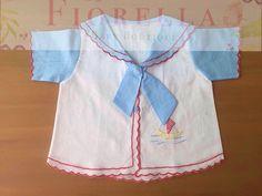 camisa marinero de bebe
