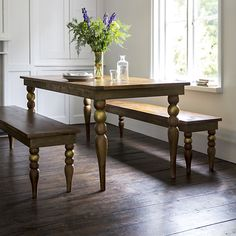 Bali 8 Seater Dining Table Including Two Benches