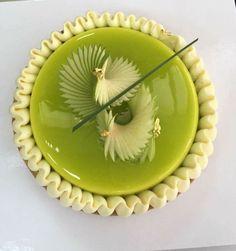 Matcha tart