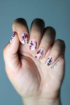 #omd2nails abstract barry m nail polish