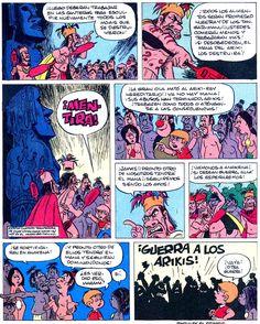 Los comics de Machete: Mampato y Ogú: Rapanui Manado, Comic Books, Cover, Art, Easter Island, Islands, Gatos, Art Background, Drawing Cartoons