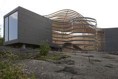 Pieta-Linda Auttila's Sculptural WISA Wooden Design Hotel in Helsinki is Encased in Bent Wood Pieta Linda Auttila's curvy WISA Wooden Design Hotel – Inhabitat - Green Design, Innovation, Architecture, Green Building