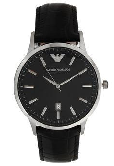 2b600aa9deb Relógio Empório Armani AR2411 0PN Prata Preto