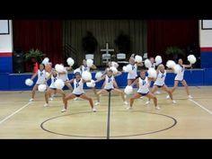 American Christian Academy HomePom 2013 - YouTube Uca Cheer, Cheer Coaches, Cheer Stunts, Cheer Mom, One Song Workouts, Cheer Workouts, Morning Workouts, Workout Songs, Cheerleading Chants