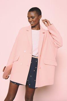 Le manteau Pia rose !