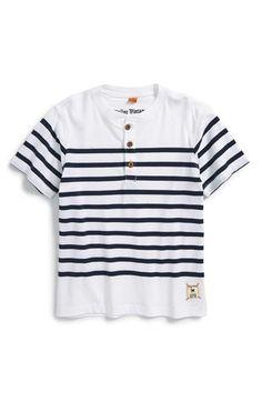 Tailor Vintage Sailor Stripe Henley (Toddler Boys, Little Boys & Big Boys)