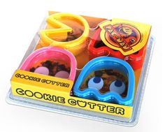 The simplest ideas are sometimes the best. Love these Pac-Man cookie cutters from Fab.com