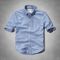 Mens Tupper Lake Shirt | Mens Shirts | Abercrombie.com