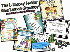 The Literacy Ladder: Blog Launch GIVEAWAY!!!