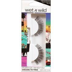 Wet n Wild Eyelashes & Glue, C971A Shredding the Fringe, 0.05 fl oz, Red