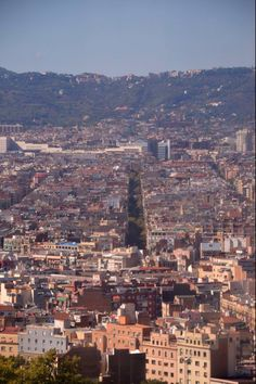 View from Teleféric Montjuic