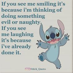 Stich quotes, lilo stitch, lelo and stitch, disney quotes Lilo Stitch, Lilo And Stitch Memes, Lelo And Stitch, Stitch Movie, Cute Stitch, Funny Minion Memes, Funny Disney Memes, Disney Quotes, Funny True Quotes