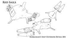 Noble Ship Ext 001 by unitzer07 on DeviantArt