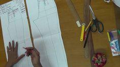 Tansformación Patron Pantalón Básico por la Prof. Piedad Peña Youtube, Pants Pattern, Pattern Cutting, Dressmaking, Youtubers, Youtube Movies