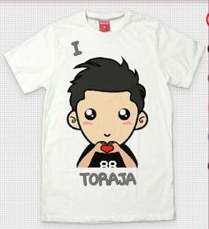 T Shirt I love Toraja 1