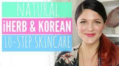 Natural iHerb & Korean 10-Step Skincare Routine l URBANWIT - YouTube