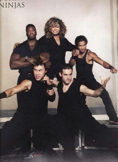 Tina and her ninjas