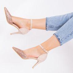 Pantofi cu toc dama bej Felda Stiletto Heels, Casual, Shoes, Fashion, Moda, Zapatos, Shoes Outlet, Fashion Styles, Fasion