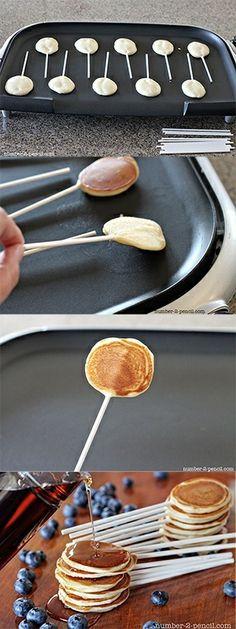 Pancake Pops<<--- Wildly unnecessary breakfast food items..