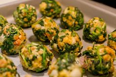 Bliss Images and Beyond: Best Appetizer Ever - Spinach Balls
