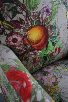 Timorous Beasties Fabric - Bloomsbury Garden