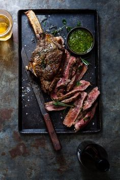 Cote de Boeuf with Chimichurri / Nadine Greef