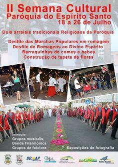 PARÓQUIAS DO PORTO SANTO: 2ª semana cultural da Paróquia do Espírito Santo (...