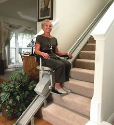 Home stair lifts can be crucial to those living alone or by those who have trouble making it up and down steps.