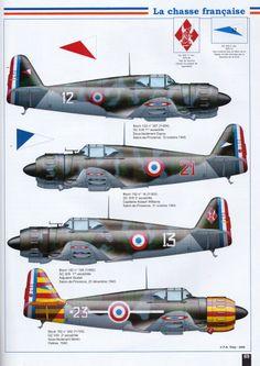 Aéro Journal N°40 - Dewoitine D.500-510, la chasse française, bloch 152 http://maquettes-avions.hautetfort.com/archive/2011/06/08/aerojournal.html