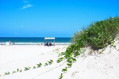 Beach in Corpus Christi, Texas