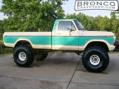 A Brief History Of Ford Trucks – Best Worst Car Insurance Big Ford Trucks, 1979 Ford Truck, Classic Pickup Trucks, Old Pickup Trucks, Lifted Ford Trucks, Cool Trucks, Ford 4x4, 4x4 Trucks, Chevy Trucks