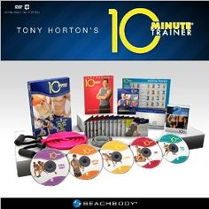10 Minute Trainer: Tony Horton's Workout for the Busiest People Fitness DVD Program.  List Price: #EANF#  Savings: #EANF#