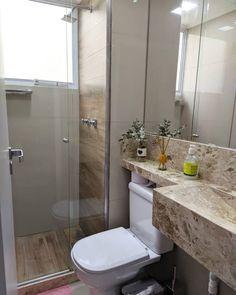 Small Bathroom Interior, Small Bathroom With Shower, Tiny Bathrooms, Tiny House Bathroom, Bathroom Design Small, Toilet Room Decor, Small Toilet Room, Bathroom Goals, Bathroom Layout