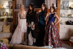 Aria proves that you don't need to wear a classic style to feel prom-worthy.  Her floral maxi skirt and blue crop top are totally unique and trendy but still look totally glam.     - Seventeen.com
