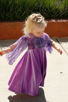 Purple Appleblossom dress