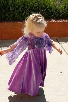 Purple Appleblossom dress