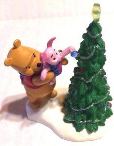 Hallmark Keepsake Ornament Disney Pooh Boost for Piglet 2003 Lighted