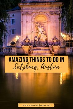 Are you planning a trip to Salzburg, Austria? Here are the top things to do in Salzburg. Visiting Mozart's house is a must as well as a Sound of Music Tour and explore old town Salzburg. Amazing Things To Do In Salzburg, Austria | Salzburg | Salzburg Austria | Top Things To Do in Salzburg, Austria  | Sound of Music in Salzburg Austria | #Europe #thingstodo #travel #Salsburg #Austria #SoundofMusic #Mozart #EuropeDestination #MusicLover