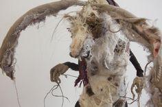 Fantastical Woodland Beasts by Irish Artist Lauren Scott — The World of Kitsch Lauren Laverne, Lauren Scott, Textile Sculpture, Fantasy Monster, Irish Art, Textile Artists, Local Artists, Fantastic Beasts, Fabric Art