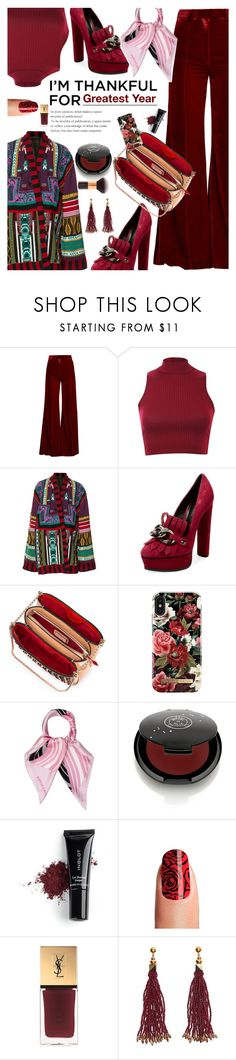 """""""Greatest Year"""" by kristina-susanto ❤ liked on Polyvore featuring Racil, Pilot, Etro, Casadei, Christian Louboutin, iDeal of Sweden, Viktor & Rolf, Rituel de Fille, Inglot and Yves Saint Laurent"""