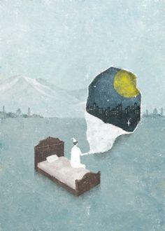 """akira-kusaka-illustration: """"© Akira Kusaka """""""