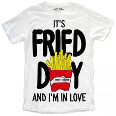 "T-SHIRT UOMO ""FRIED DAY"""