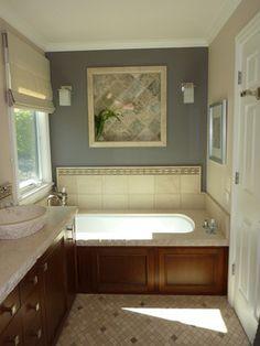 The Art Gallery Manhattan style master bedroom u bathroom eclectic bathroom